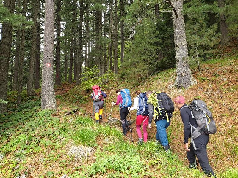 Практична обука за планинарски водичи - жени, во Категорија А1