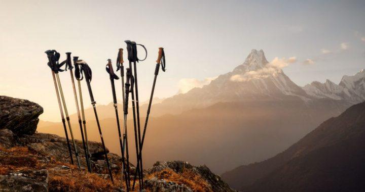 Употреба на планинарски стапчиња